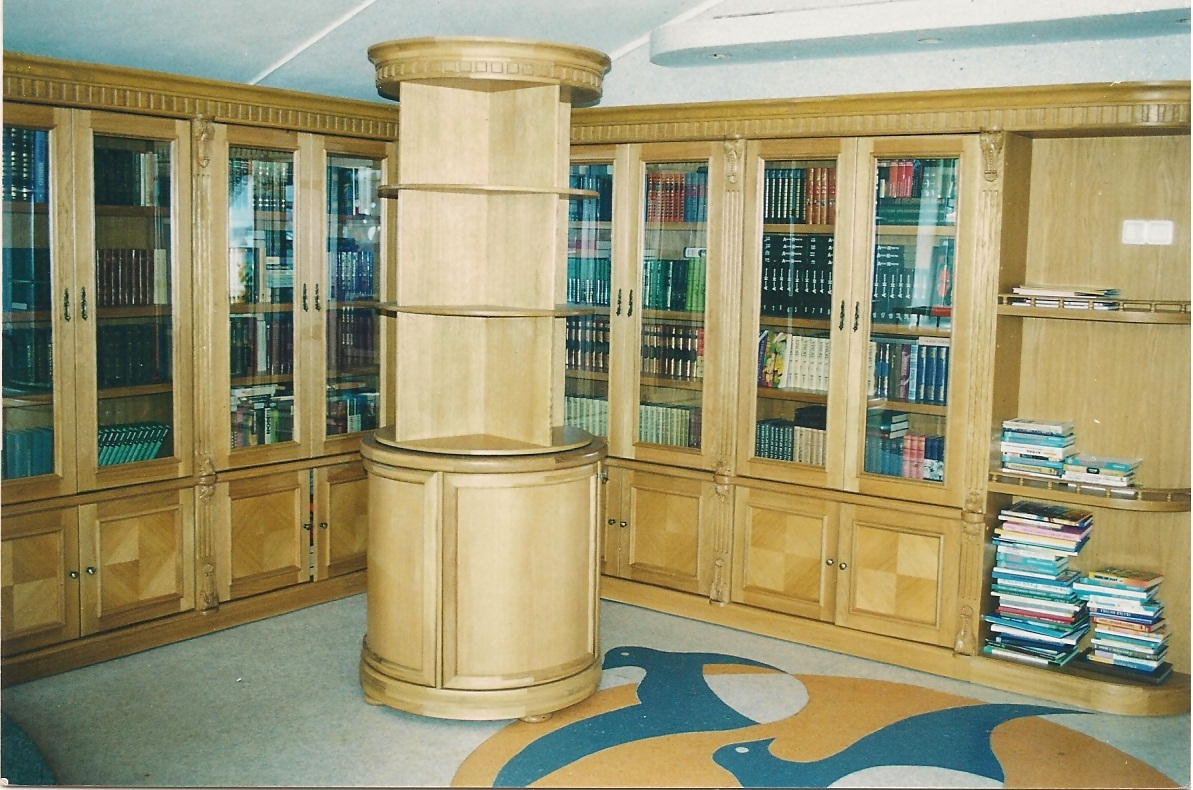 Столярка в москве, столярное производство - библиотеки.